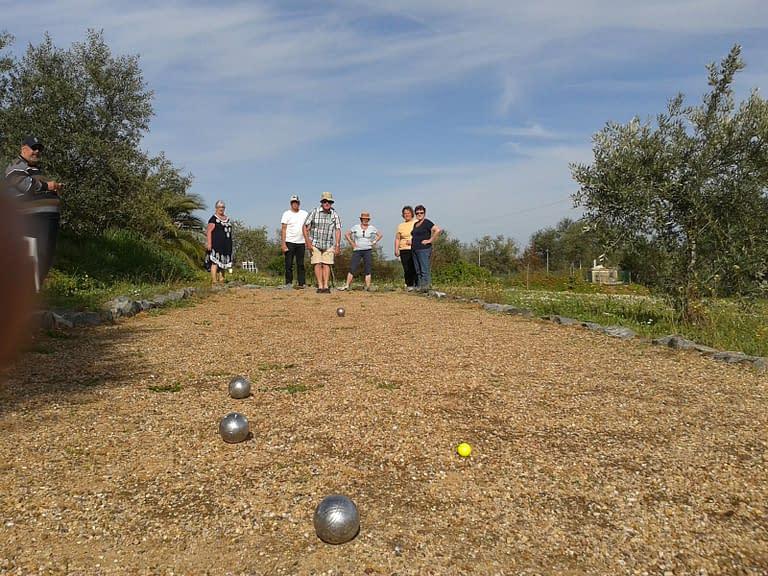 jeux de boules camping