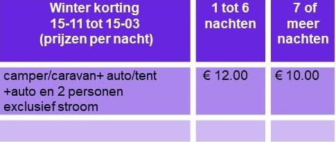 Prijslijst winter nl 2021g
